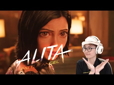 ALITA: BATTLE ANGEL Trailer 2 {2018} - My React & Review