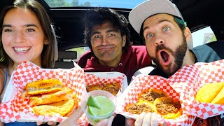 TASTING POPULAR MEXICAN FOOD SPOT WITH NATALIE & TODD!!