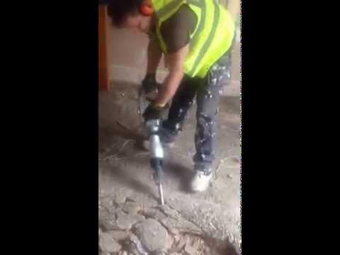 concrete breaking hammer ( polish builder London)