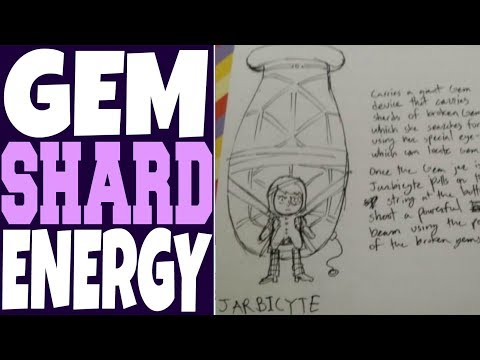JARBICYTE CONCEPT ART, WEAPONIZED RECYCLED GEM SHARDS! [Steven Universe Theory / Discussion]