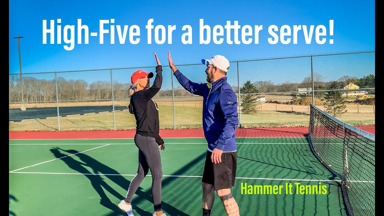 How to hit better serves!