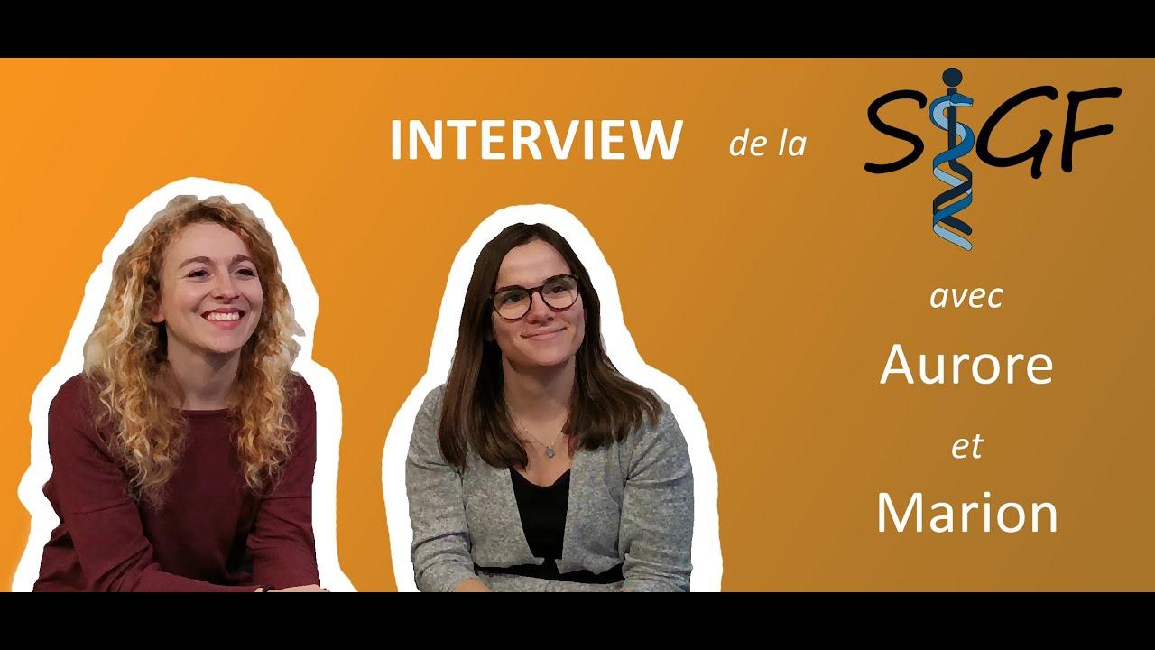 L'Interview - L'internat de Génétique Médicale par la SIGF - YouTube