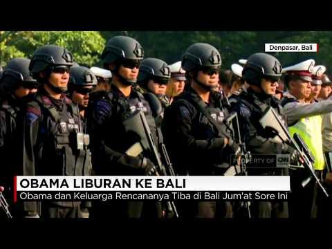 Obama & Keluarga Liburan ke Bali