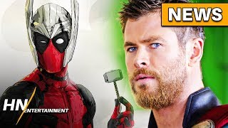 Chris Hemsworth Reacts to Deadpool Joining the MCU With Hilarious Image