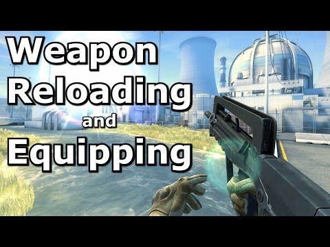 CS:GO - Weapon reload and equip times