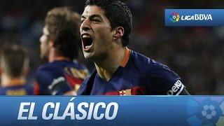 Seguimiento a Luis Suárez en su doblete al Real Madrid