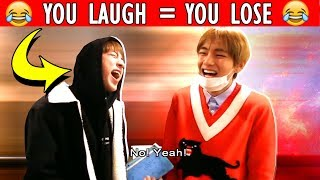 "[BTS] ""You Laugh = You Lose"" Challenge 