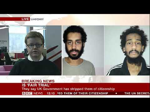 Kyle Orton speaks to the BBC About Captured British ISIS Jihadists