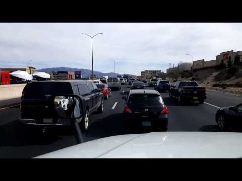 BigRigTravels LIVE! Albuquerque to near Logan, New Mexico Interstate 40 East and US 54-Feb. 4, 2018