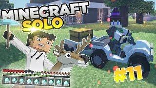 Energia i wóz z przyczepą! | Minecraft SOLO #11 | HusBox 3.0  | Sezon 2019