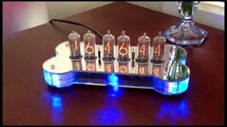Nixie Clock - In-8-2 Tubes