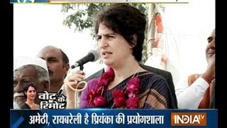 India TV show Vote Ka Remote: Priyanka Vadra's role in polls