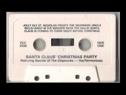 Santa Claus' Christmas Party Cassette Tape