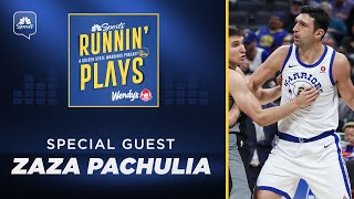 Zaza Pachulia on Klay Thompson bet, infamous Kawhi Leonard incident | Runnin' Plays | NBC Sports BA