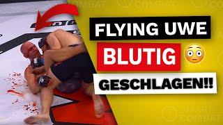 SCHOCK!!😳Flying Uwe Kampf ABGEBROCHEN!! Uwe Schüder Kampf vs Max Heine | GMC 23