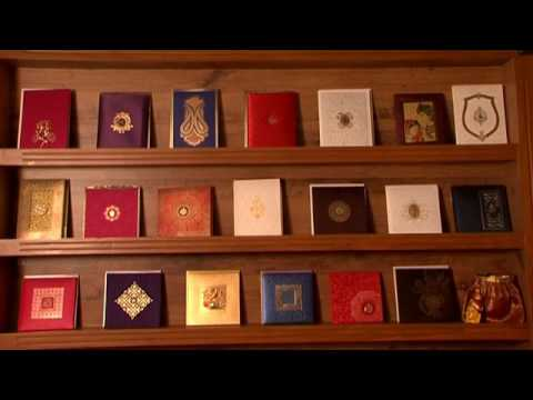 Designer Wedding Invitation Showroom At Chennai Shubh Cards Youtube