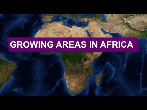 Growing Areas in Africa • Explained With Maps
