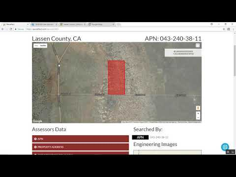 Lassen County 20 Acres for $7999
