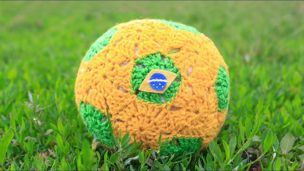 Crochet Tutorial Soccer Ball Youtube