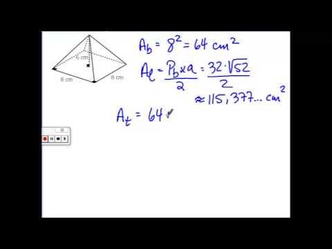 calculer le volume d une pyramide a base triangulaire