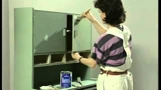 Как привести в порядок старую домашнюю мебель. Окраска мебели.(, 2014-06-26T01:29:13.000Z)