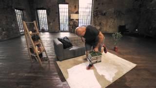 Упражнения для спины: тренировка с книгами | Школа домашнего фитнеса #7