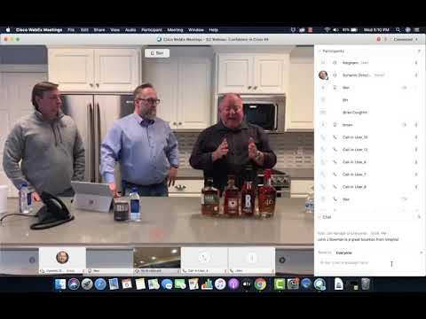D2 Wednesday Webinar: Bourbon Tasting