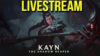 🔴 KAYN PBE GAMEPLAY - MID / JUNGLE  / TOP  - League of Legends 🔴