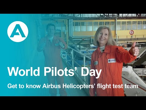 Get to know Airbus Helicopters flight test team on World Pilots Day