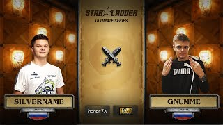 Silvername vs Gnumme, StarLadder Hearthstone Ultimate Series