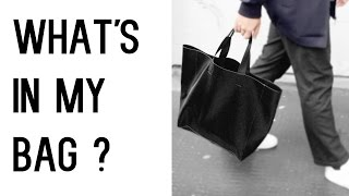 What's In My Bag?!  - (Men's fashion and lifestyle) ✖ James Welsh