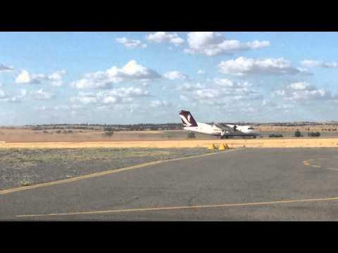 Skytrans Dash8-100 Takeoff