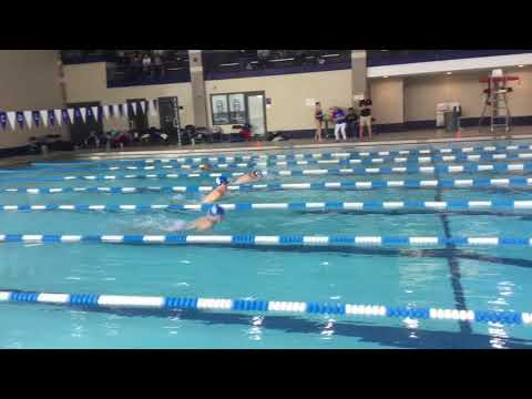 Liam A - 100 Breast - Illinois College Dual Meet