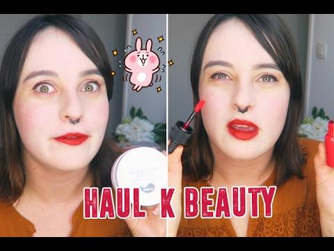 Haul Makeup & Soin Coréende YouTube · Durée:  13 minutes 28 secondes · 1.000+ vues · Ajouté le 01.02.2017 · Ajouté par Kinoko