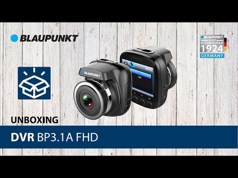 Unboxing BP3.1A FHD With WIFI App - Blaupunkt DVR