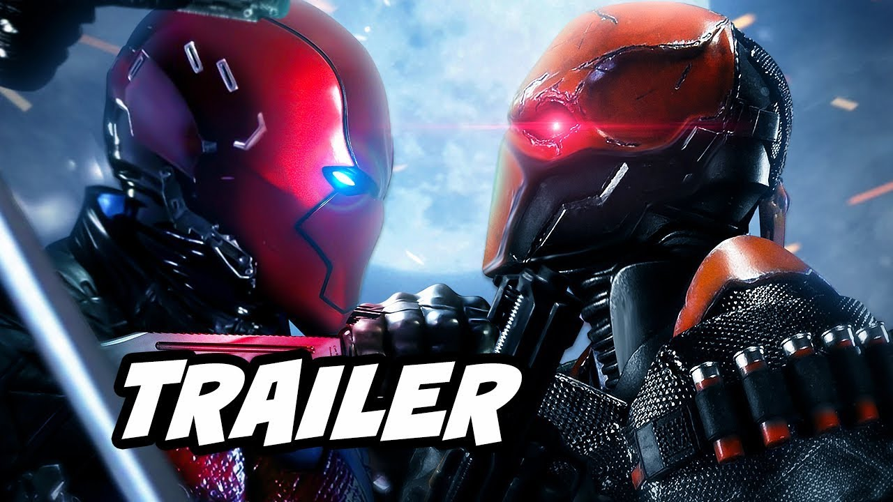 Download Titans Red Hood Trailer and Batman Under The Red Hood Easter Eggs
