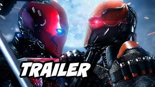 Titans Red Hood Trailer and Batman Under The Red Hood Easter Eggs