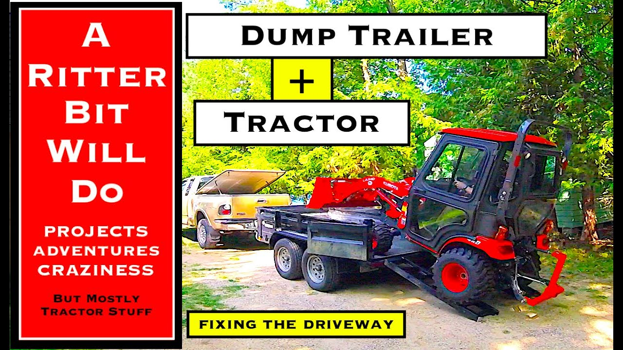 TRACTOR AND DUMP TRAILER (a perfect pair)