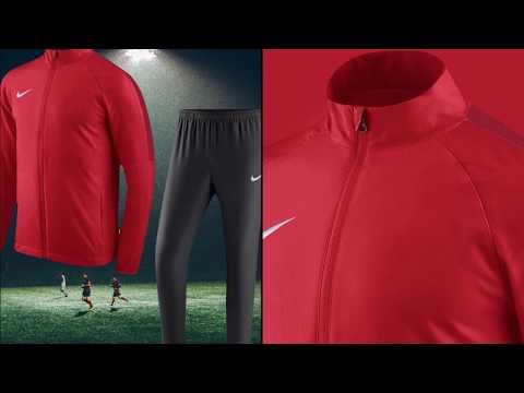 Nike Academy 18 Präsentationsanzug (Woven Suit) YouTube