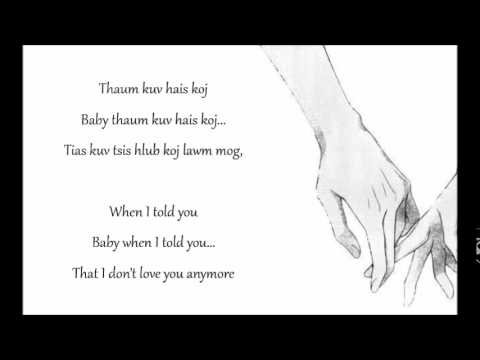 Sudden Rush - Mi Noog Lyrics w/ English Translations