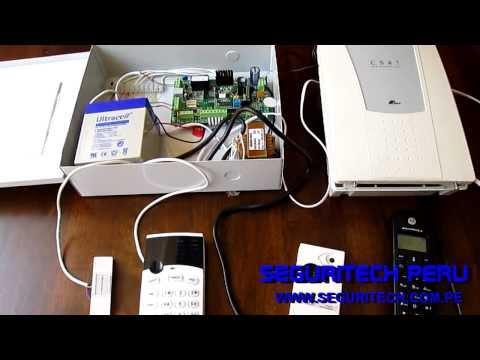 Tutorial conectare componente sistem de alarma kit dsc for Instalacion de alarmas