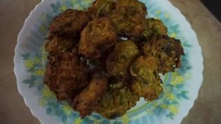 green papaya spicy pakura | easy tasteful bora recipe