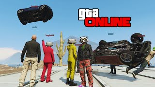 GTA 5: Online | ps4 | Red Light/Green Light Survival!