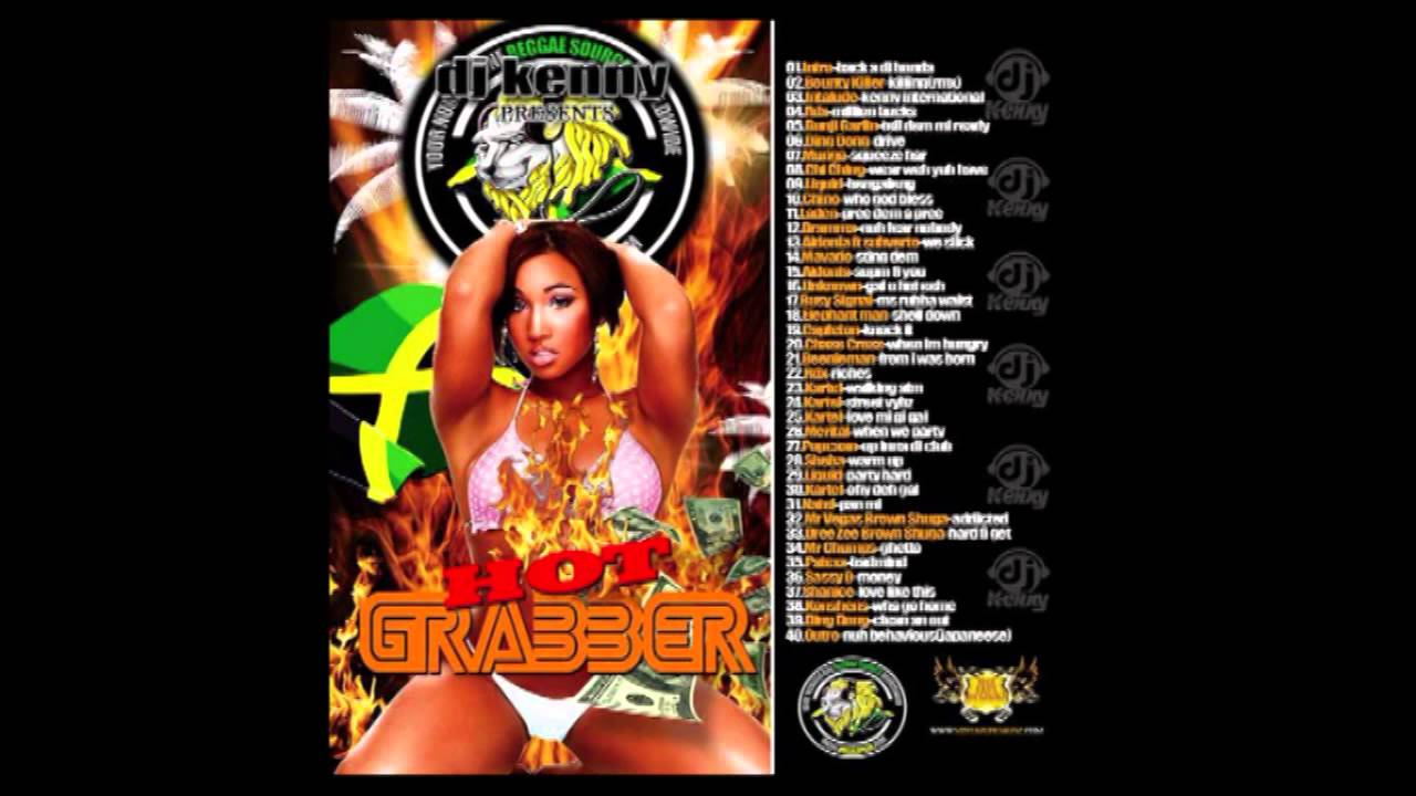 DJ Kenny - Hot Grabber (Dancehall Mix CD 2010 Preview)