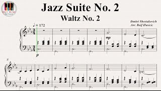 Download The Second Waltz, Op. 99 (Jazz Suite No. 2), Dmitri Shostakovich (Дми́трий Шостако́вич - вальс 2) Mp3 and Videos