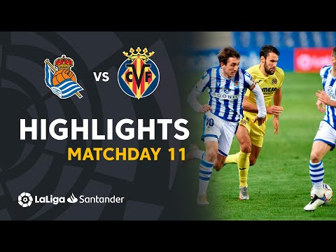 Real Sociedad Villarreal Goals And Highlights