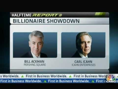 Billionaire Smackdown: Bill Ackman vs Carl Icahn (Highlights)