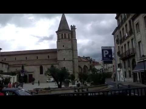 City Centre, Beziers, France