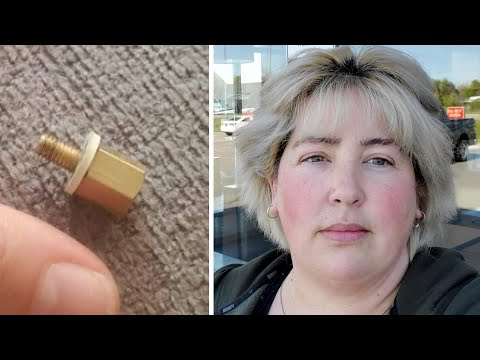 Woman says she choked on screw in iced coffee and Tim Hortons only offered a free meal in return
