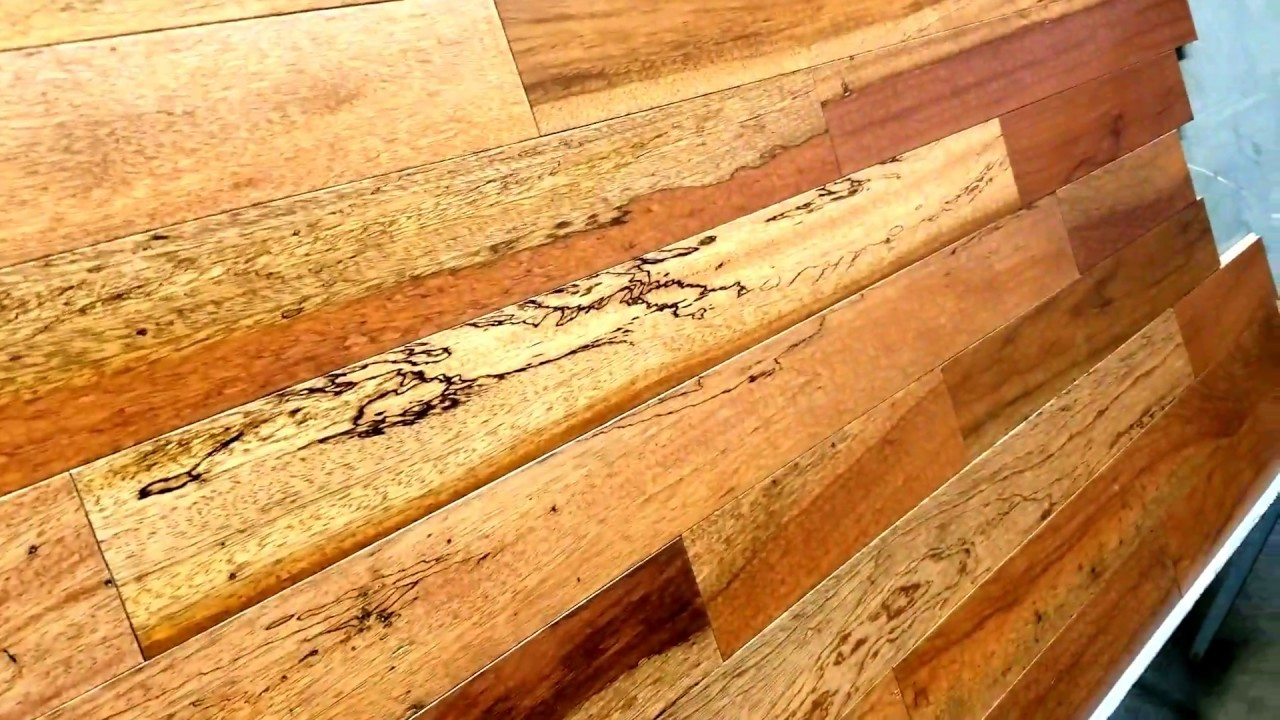 Brazilian Cherry Prefinished Rustic With Blonde Sap Highlight
